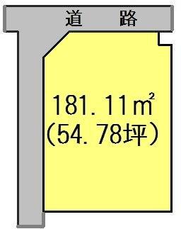 多治見市大原町1丁目 間取図・土地図