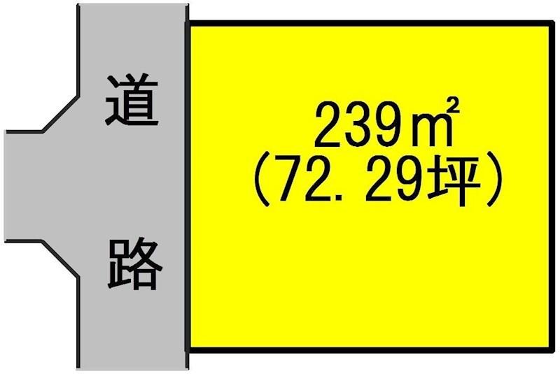 土岐市泉町大富 間取図・土地図