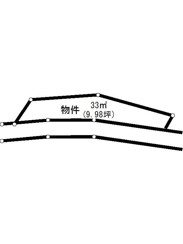 多治見市東栄町 間取図・土地図