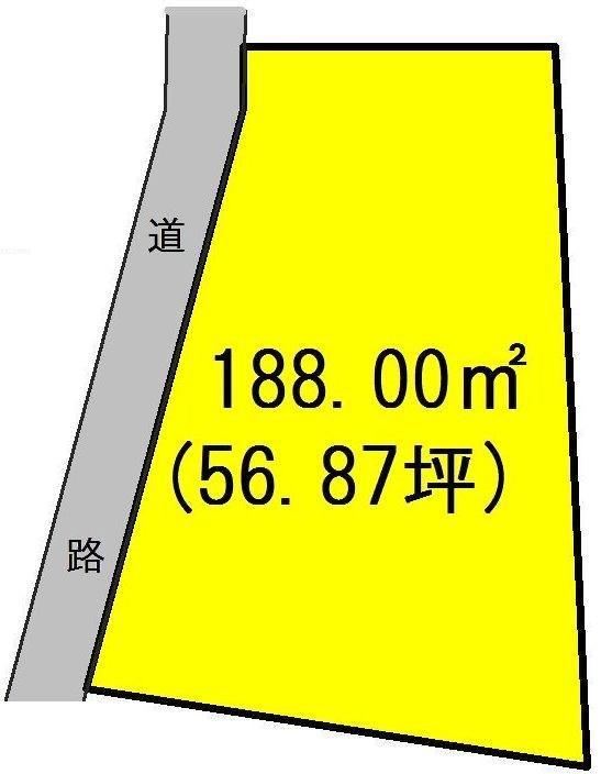 岐阜県瑞浪市陶町大川 間取図・土地図