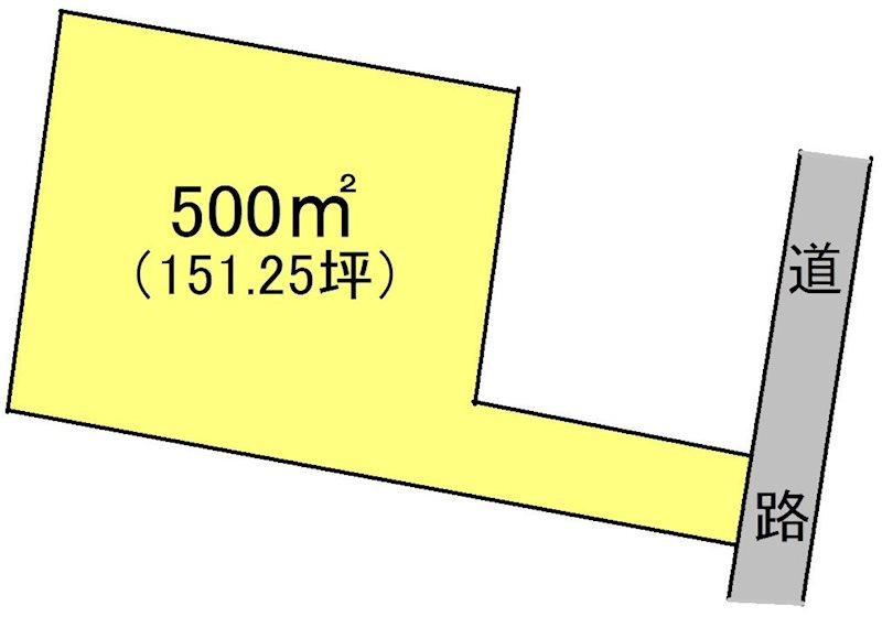 加茂郡富加町 間取図・土地図