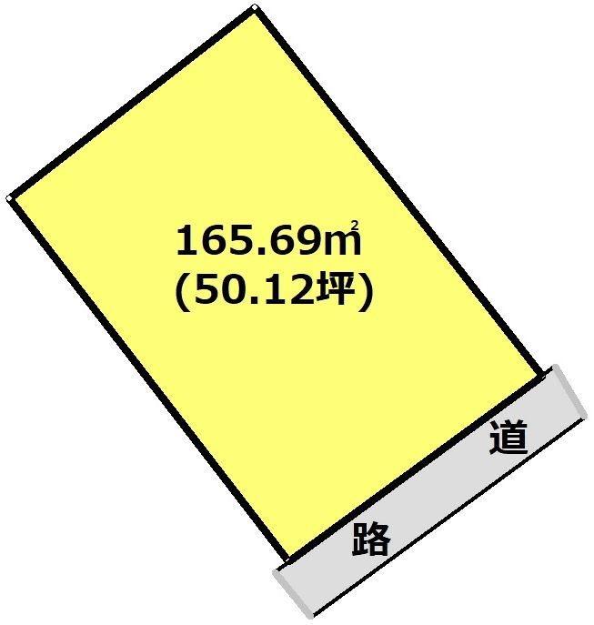 岐阜県瑞浪市釜戸町 間取図・土地図