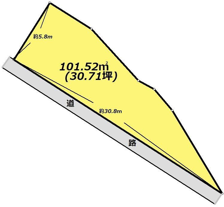 岐阜県多治見市笠原町 間取図・土地図
