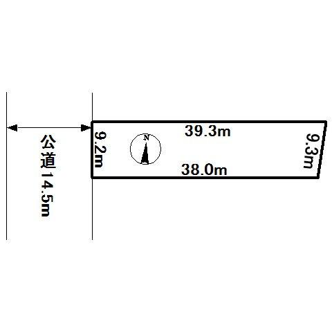 美幌町字仲町2丁目1番 土地 間取図・土地図