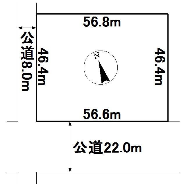 小泉213番 土地 間取図・土地図