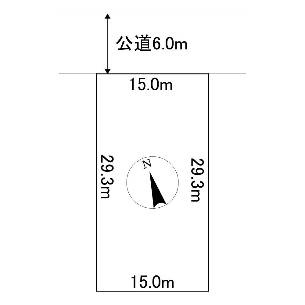 美幌町字青山南24番 土地 間取図・土地図