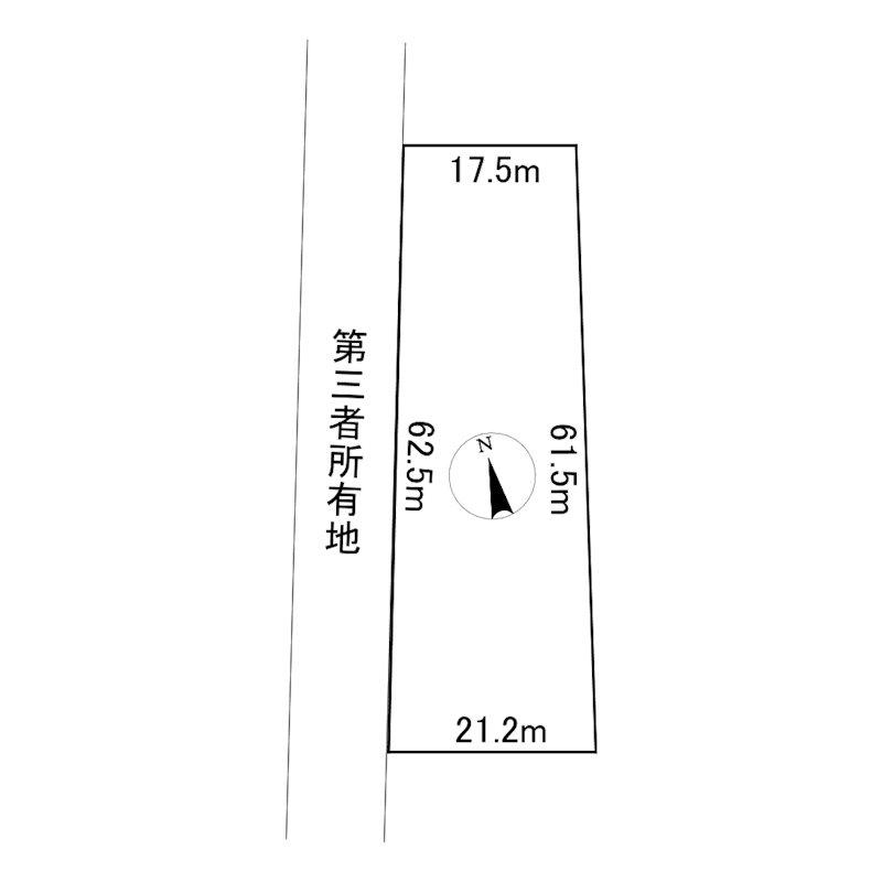 網走市呼人62番45 土地 間取図・土地図