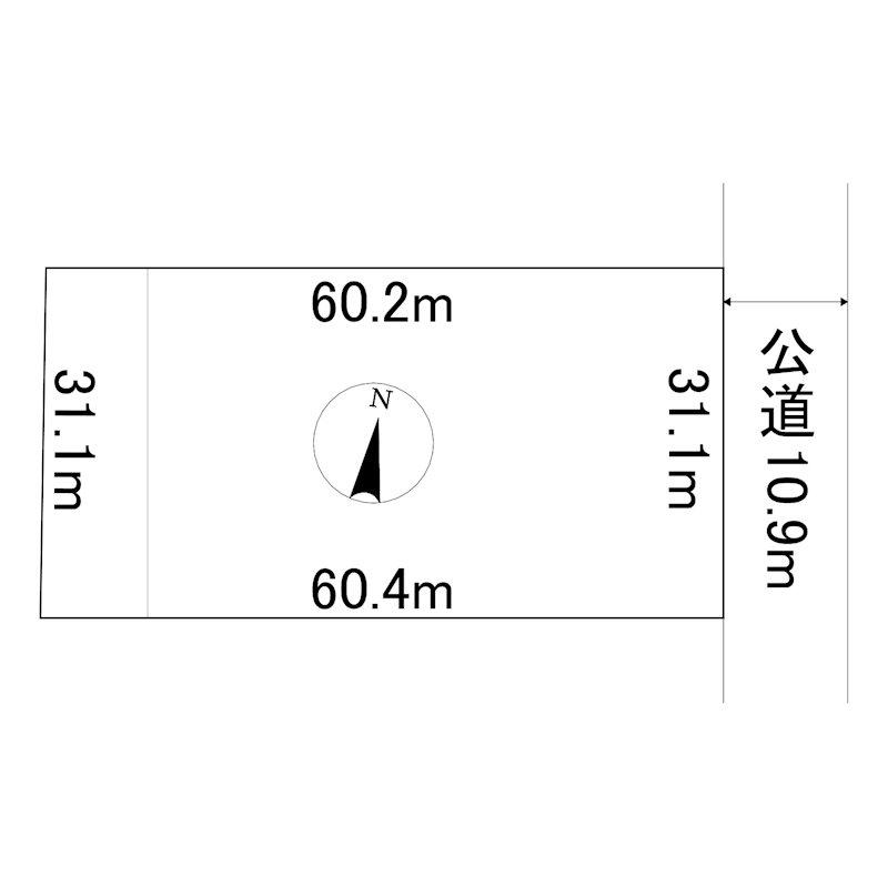 大正64番 土地 間取図・土地図