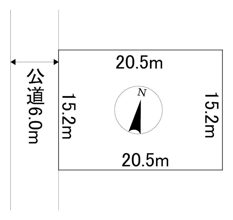 北海道北見市相内町59番16 間取図・土地図