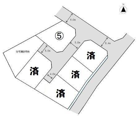 西阿知駅南 土地 全5区画 外観写真