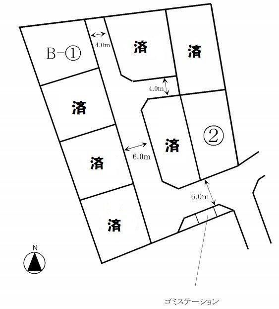 笹沖分譲地 1期・2期 外観写真