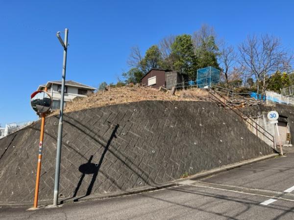 犬山市羽黒堂が洞 売地 現地写真