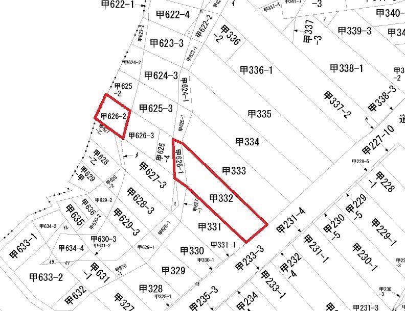 長岡市栃尾表町5-8(住居表示) 間取り図