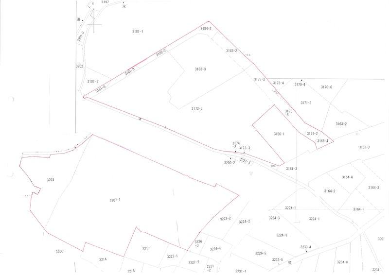 小千谷市桜町 事業用土地 間取り図