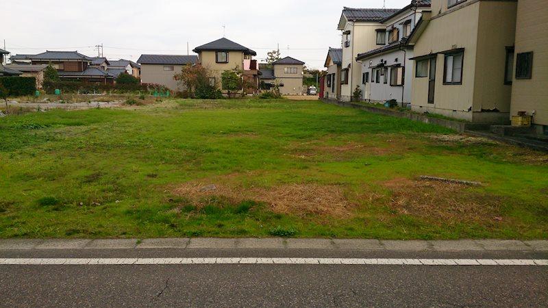 新潟市西蒲区上小吉 売土地 外観写真