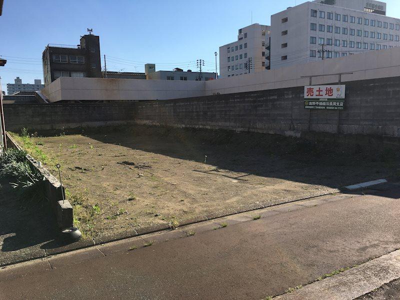 長岡市長町2丁目土地 外観写真