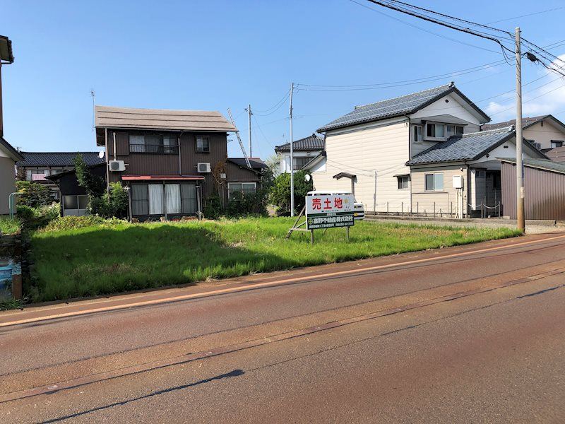 永田2丁目売土地 65.6坪 南向き 外観写真