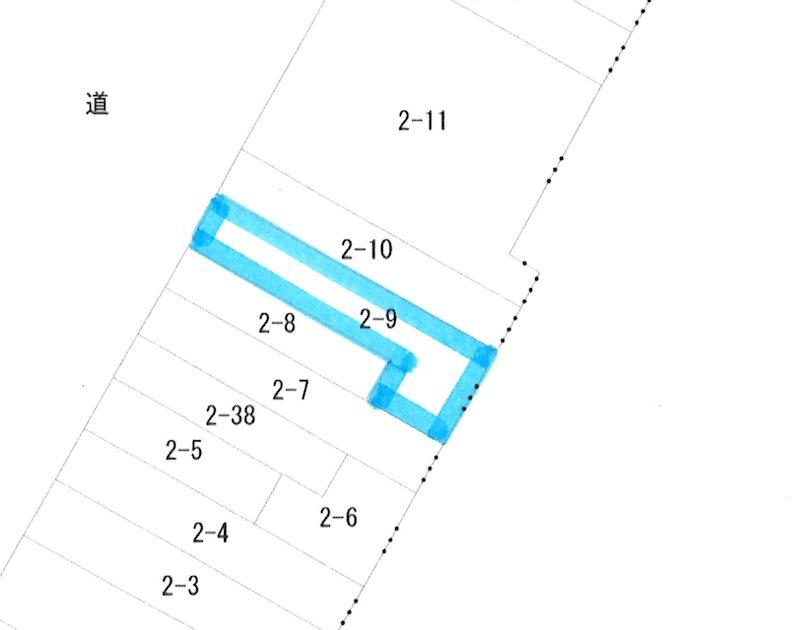 神田町三丁目 土地 間取り図