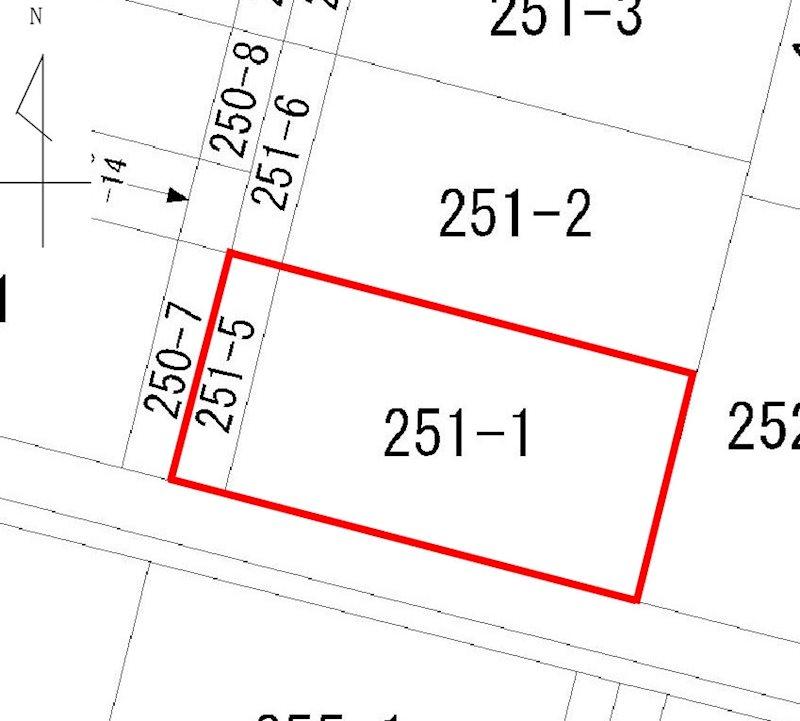 宮内1丁目251番1、外1筆 間取り図