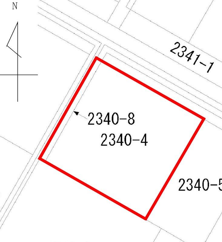 川崎3丁目2340番4、2340番8 間取り図