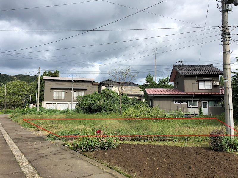 長岡市西谷 売土地 外観写真