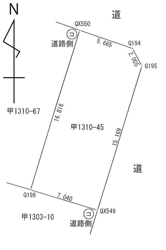 東神田3丁目35.28坪 売土地 間取り図