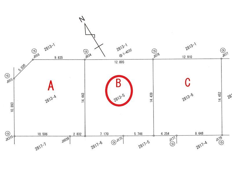 グリーンヒルズ地蔵Ⅱ 区画B 間取り図