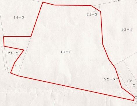 湯本第19地割 土地 間取り図