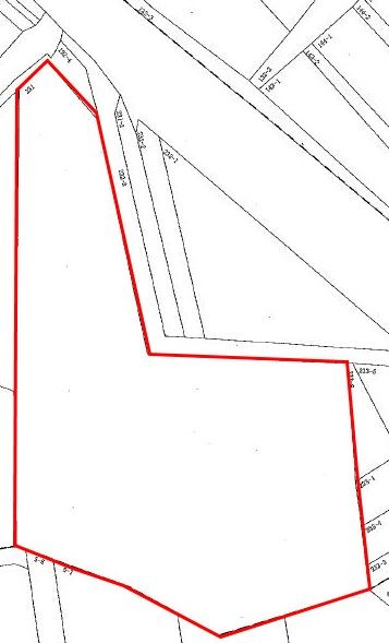 高松第29地割 山林 間取り図