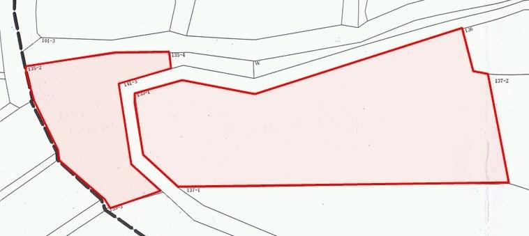 高松第12地割 山林 間取り図
