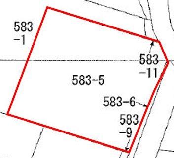 西宮野目第1地割 土地 間取り図
