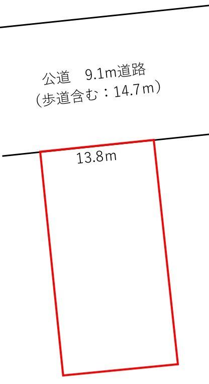 坂井市丸岡町今福 間取図・土地図