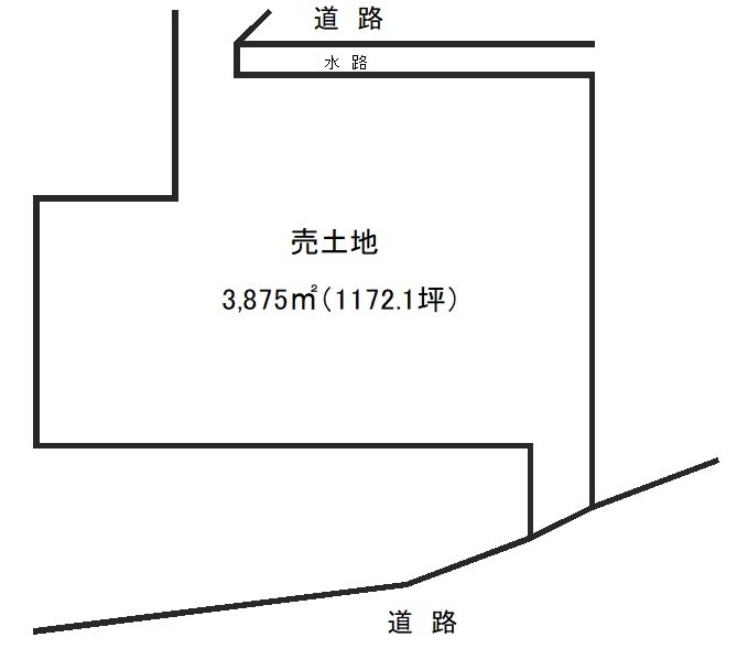 須越町 売地 間取り図