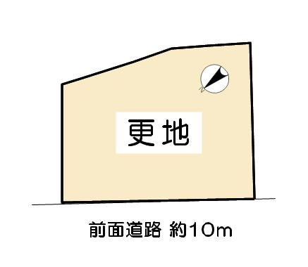 東近江市垣見町 建築条件付売土地 間取り図