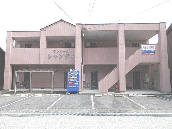 彦根市新町 ワンルームシャンティ 外観