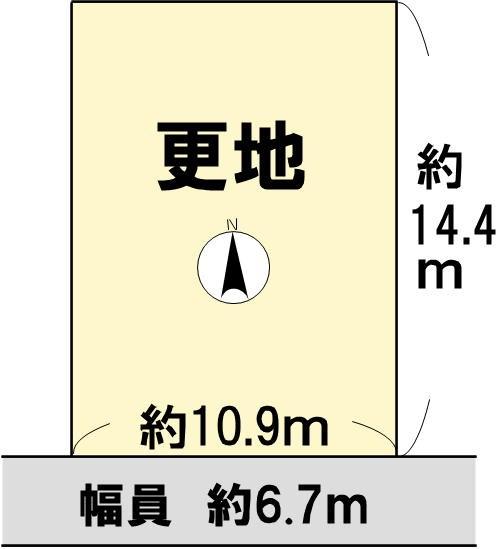 高島市野田 間取り図