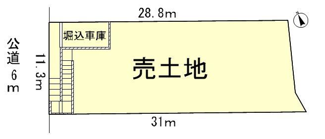 大津市雄琴3丁目 間取り図