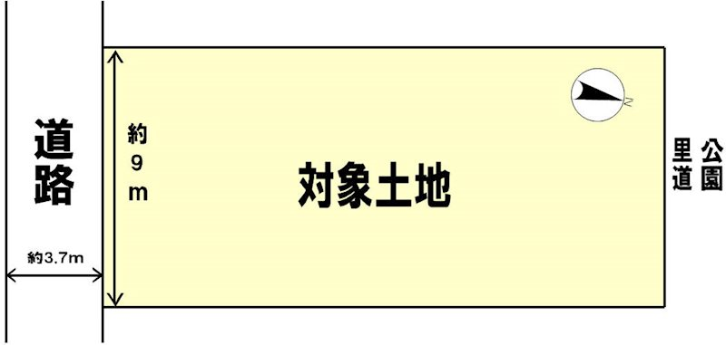 大津市富士見台 間取り図