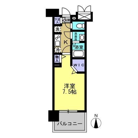 パルティール中村公園 間取図・土地図