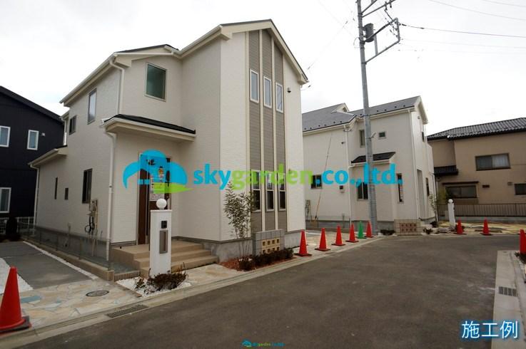 平塚市纒 新築戸建 全7棟 3号棟 外観