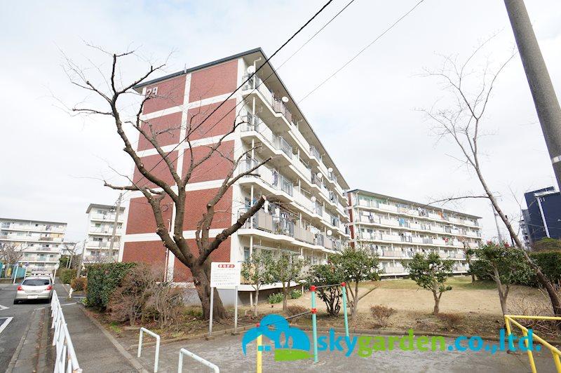 平塚高村団地29号棟最上階5階 中古マンション 外観写真
