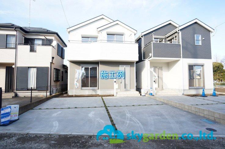 平塚市根坂間 新築戸建 全3棟 2号棟 外観写真