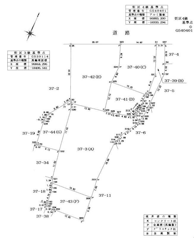 福岡県北九州市八幡東区春の町3丁目10-45 間取図・土地図