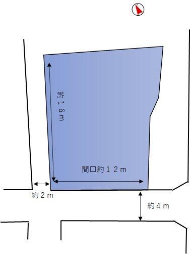 三重県四日市市楠町南五味塚618,621 間取図・土地図