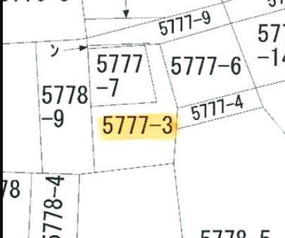 飯田市丸山町4丁目土地 間取図・土地図