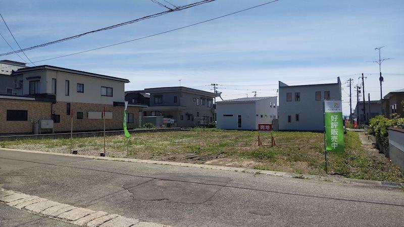【大仙支店】大仙市大曲住吉町分譲地 間取り図